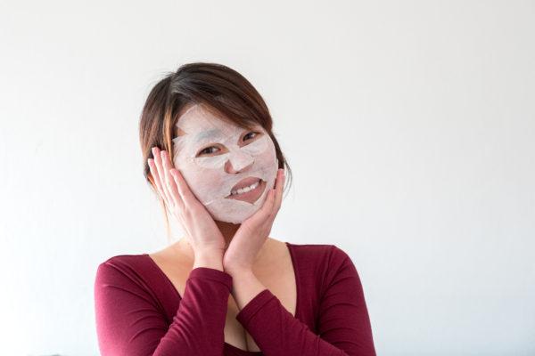 Kyselina hyaluronová v suchých maskách nfibrecare