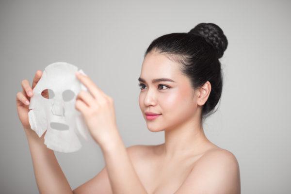 Suchá maska s kyselinou hyaluronovou